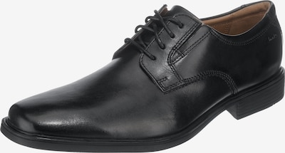 CLARKS Schnürschuh 'Tilden Plain' in schwarz, Produktansicht