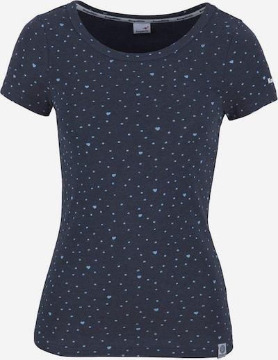 KangaROOS T-Shirt in marine / hellblau / weiß, Produktansicht