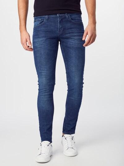TOM TAILOR DENIM Jeans 'skinny CULVER' in blue denim, Modelansicht