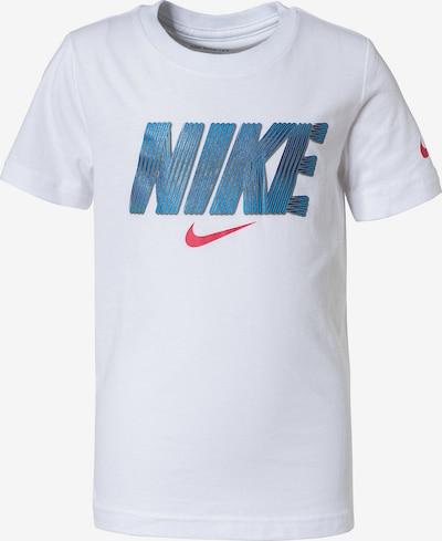 Nike Sportswear T-Shirt in blau / rot / weiß, Produktansicht