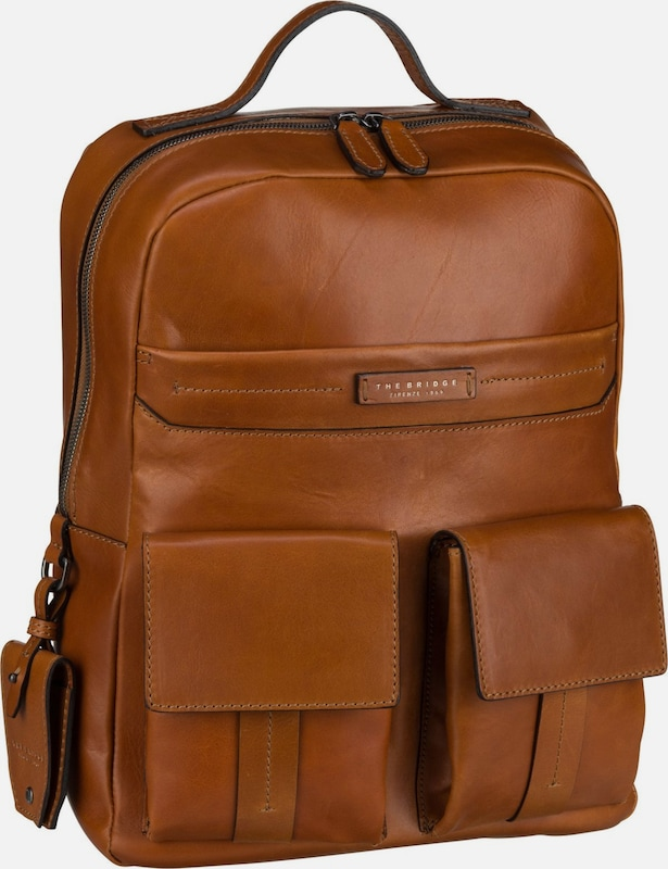The Bridge Rucksack 'Serristori' in cognac, Produktansicht