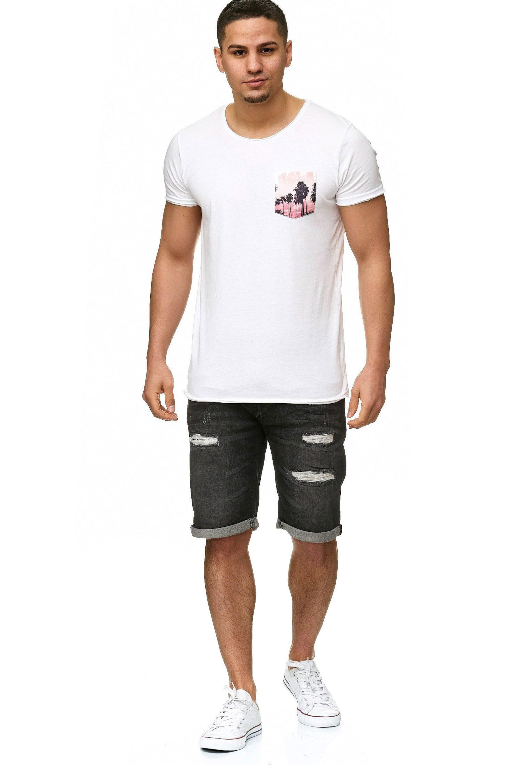 Indicode 'caden' In Jeans Graphit Shorts tshBQdCrx