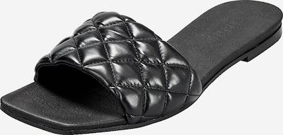 EDITED Pantolette 'Hosea' in schwarz, Produktansicht