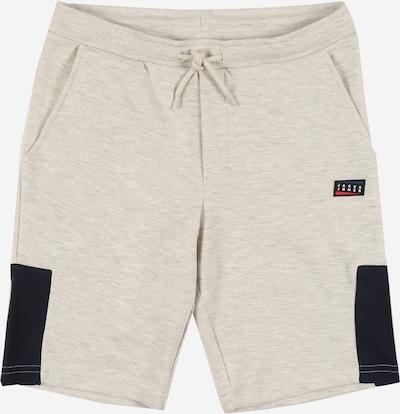 Jack & Jones Junior Shorts in hellgrau / weiß, Produktansicht