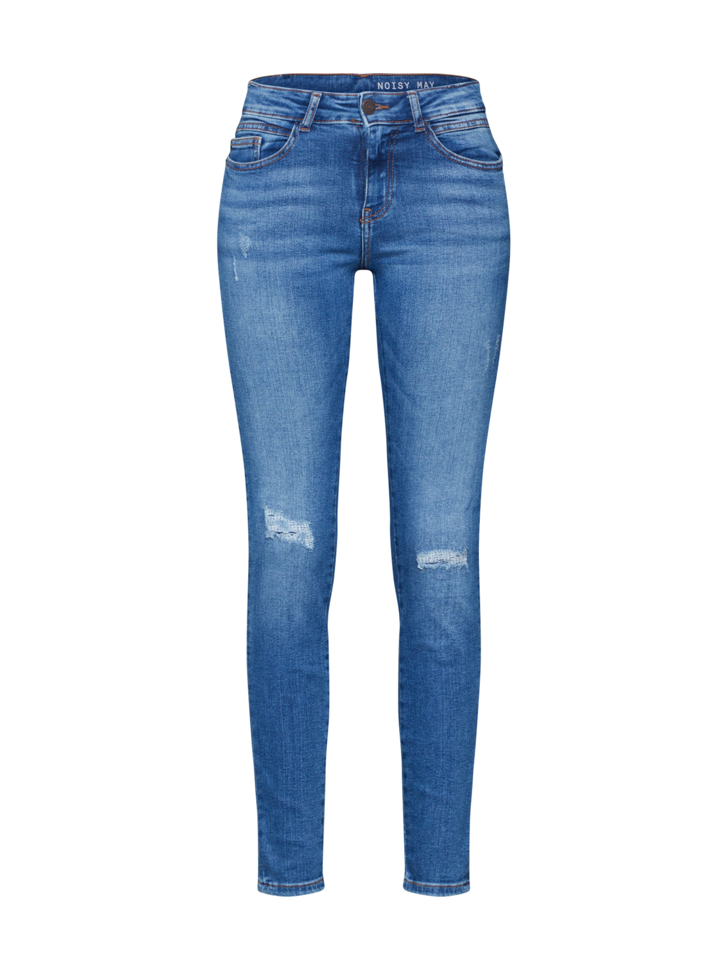 May Jeans Blue Noisy In Denim 'nmlucy' Pk08wOnX