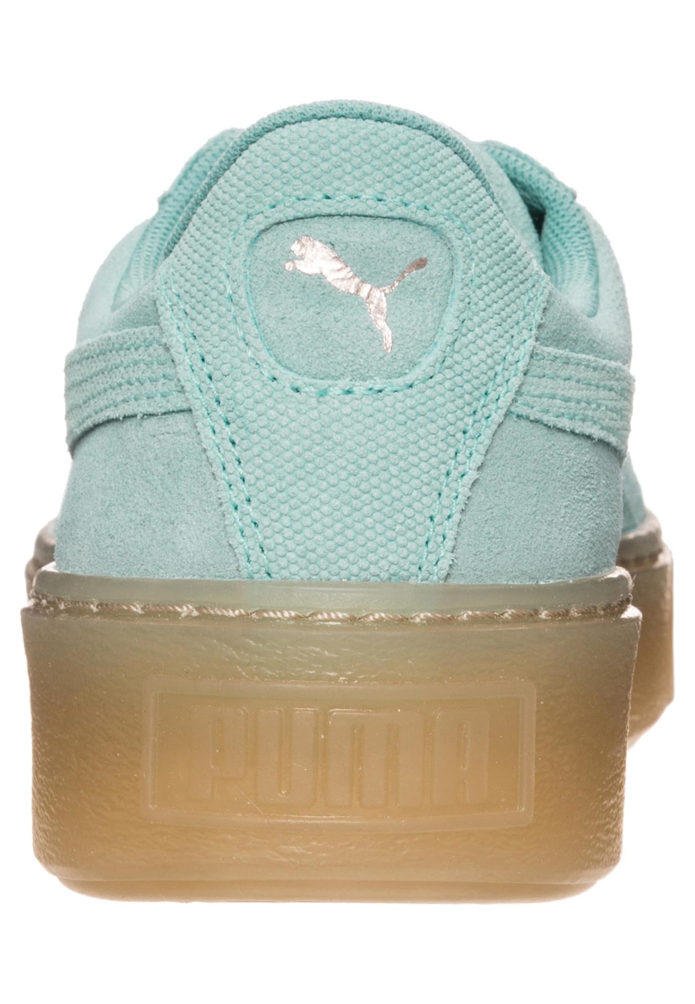 PUMA 'Suede Platform Pebble' Sneaker Damen Viele Arten Von Zum Verkauf 2018 Unisex Online Rabatt Exklusiv Footaction Online-Verkauf Freies Verschiffen In Deutschland gZhPx6iWRi