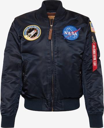 Giacca di mezza stagione 'VF NASA' di ALPHA INDUSTRIES in blu