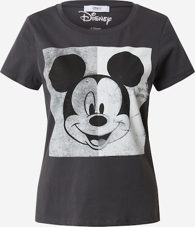 ONLY Shirt 'ONLMICKEY MINNIE' in dunkelgrau, Produktansicht