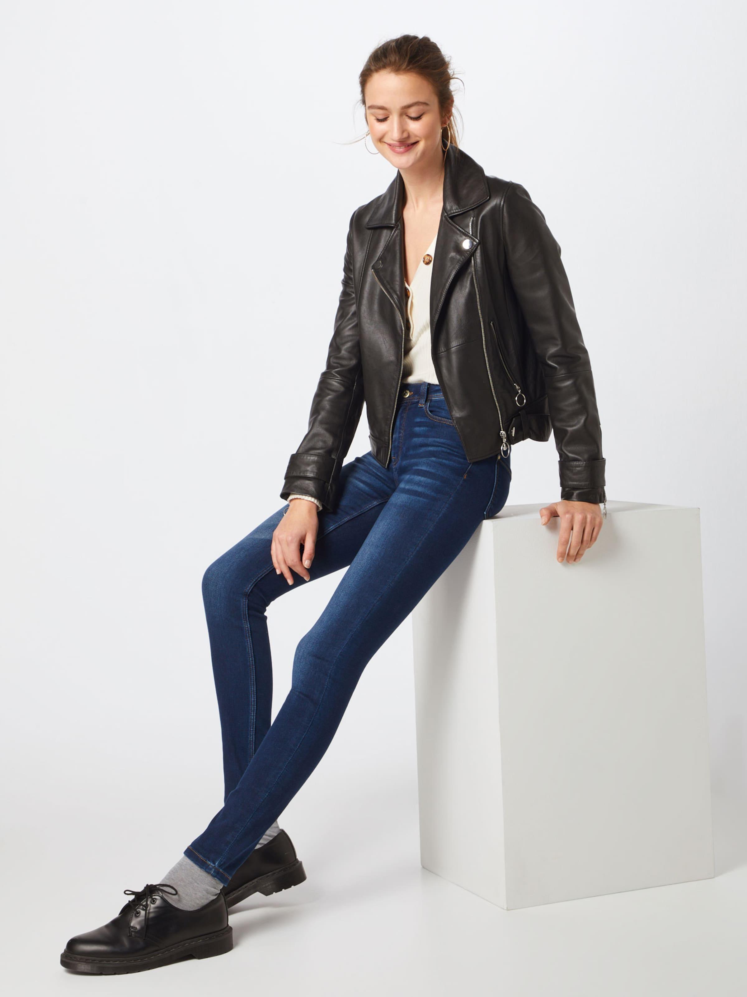 Jacqueline Rw Dark Foncé Jean Yong Bleu 'jdyganny En De Skinny Blue' vY7byf6g