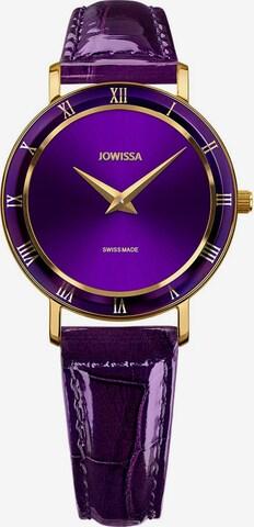 JOWISSA Quarzuhr 'Roma' Swiss Ladies Watch in Lila
