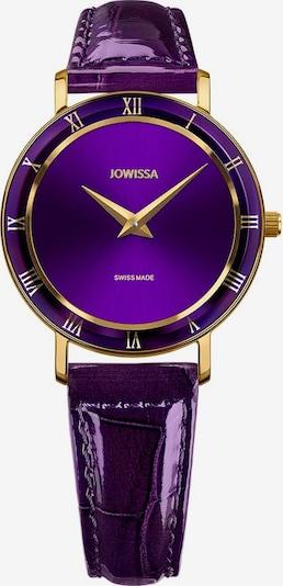JOWISSA Quarzuhr 'Roma' Swiss Ladies Watch in gold / lila, Produktansicht