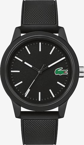 LACOSTE Uhr in Schwarz