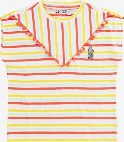 TUMBLE N' DRY T-Shirt 'Castlewood' in gelb / rot / weiß, Produktansicht