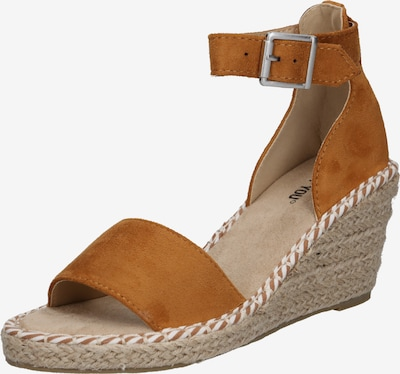ABOUT YOU Sandalias 'Leona' en cognac, Vista del producto