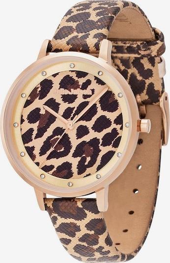 Julie Julsen Uhr 'Safari Leopard' in braun / hellbraun / rosegold, Produktansicht