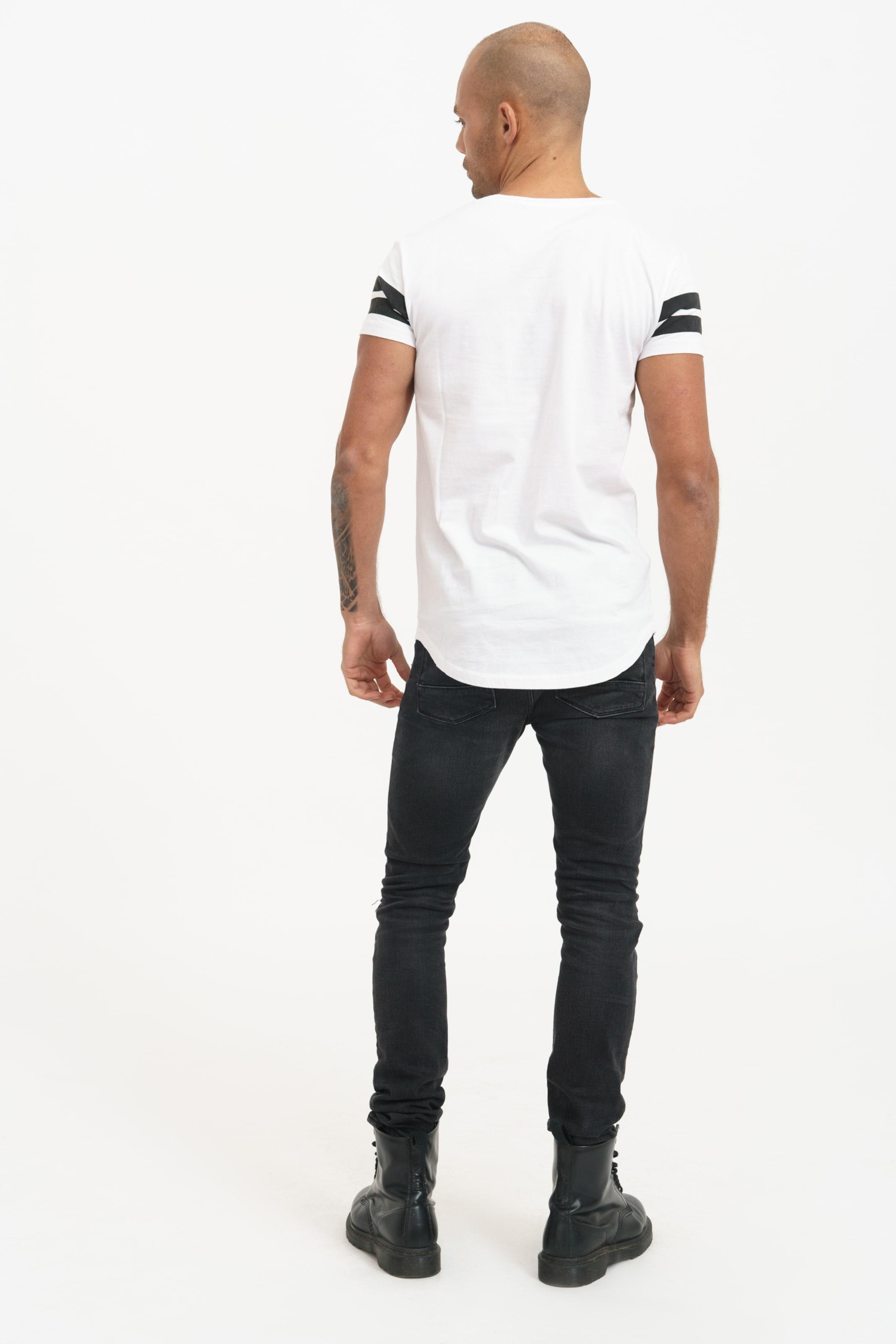 Lex Mit shirt Coolem In Weiß T Frontprint Trueprodigy K3lFJcT1