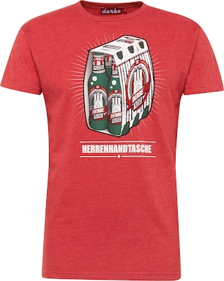 Derbe Shirt 'Herrenhandtasche Reloaded'