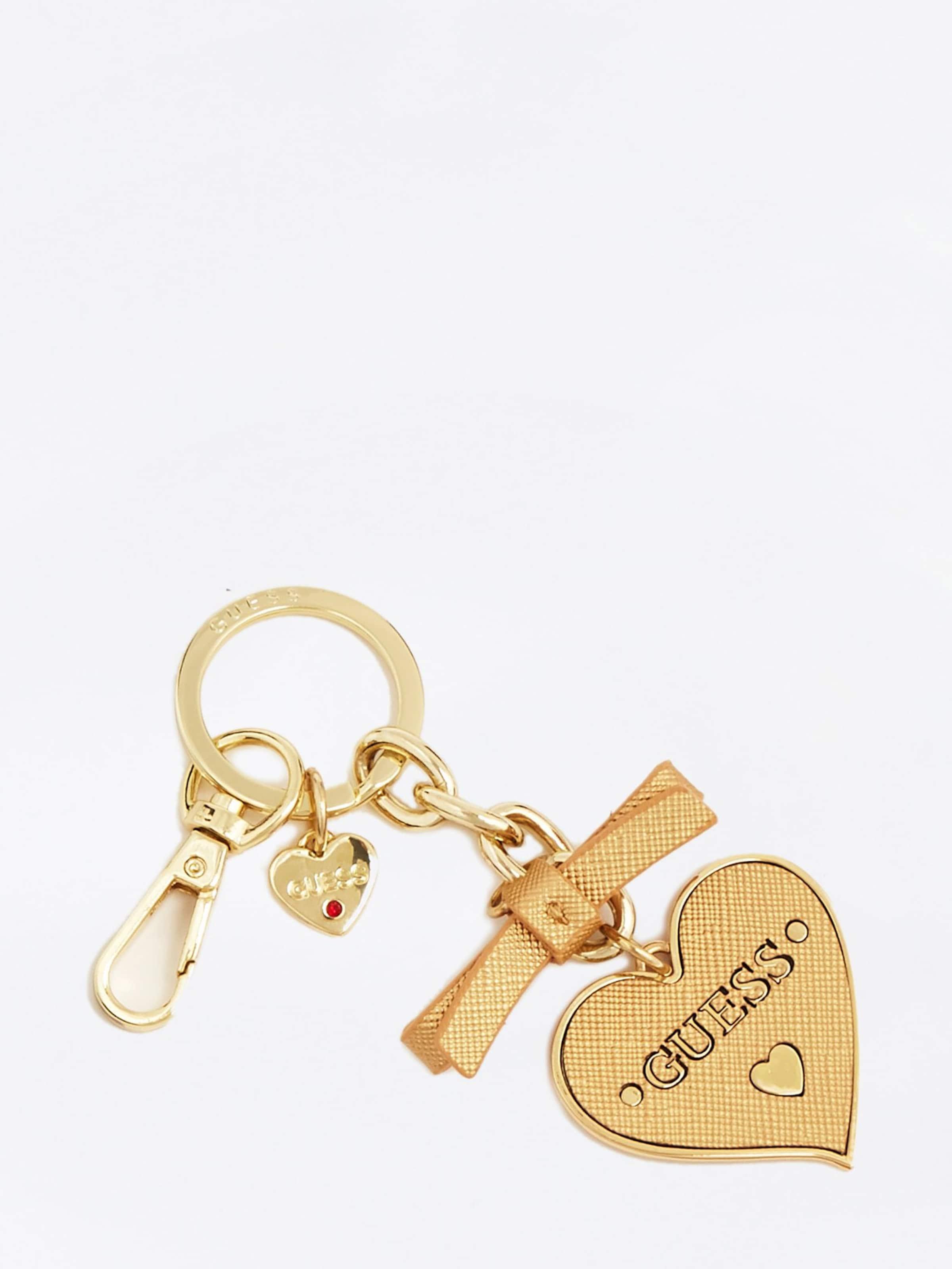 Herz' 'charm Schlüsselanhänger Guess Gold In 43ARjL5