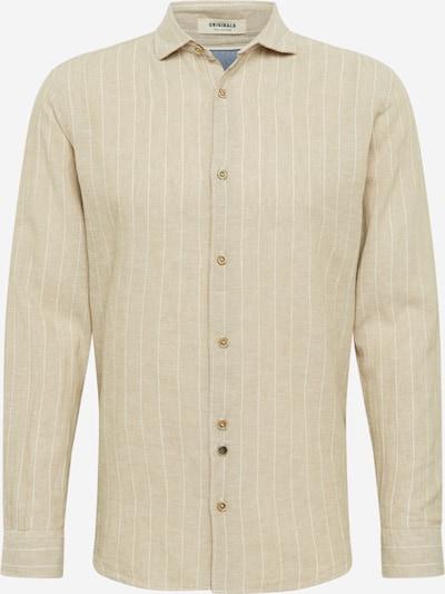 JACK & JONES Košulja 'Jordonny' u boja pijeska / bijela, Pregled proizvoda