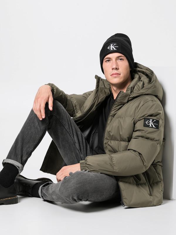 Foncé Vert Veste En Jeans Calvin D'hiver Klein 3u1JF5lKTc