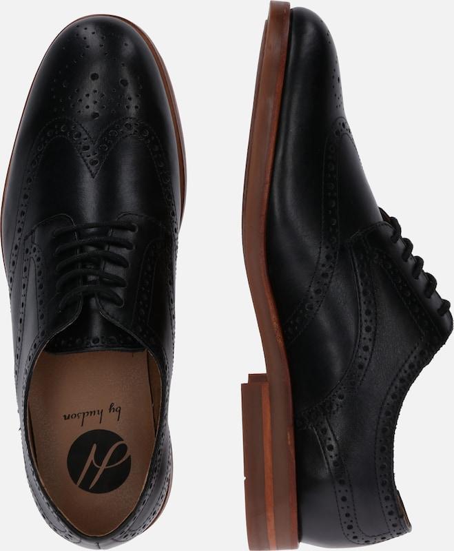 Hudson Noir À Lacets Chaussure 'balleter' En London 43jLqc5AR