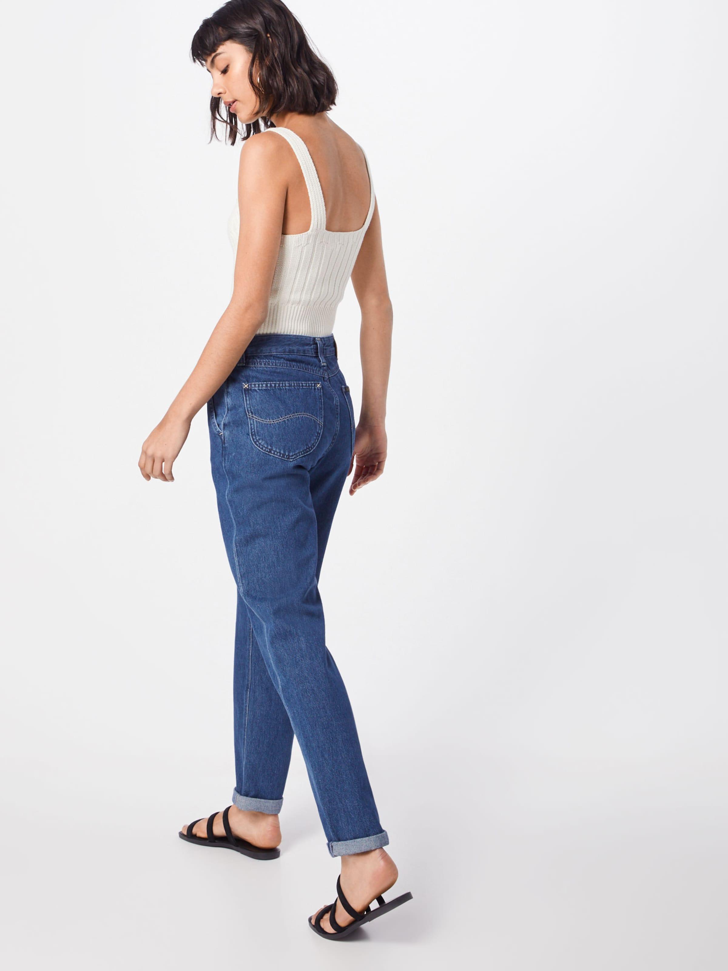 Lee Blue Denim 'seasonal Jeans In Tic' Mom mNy80POwvn