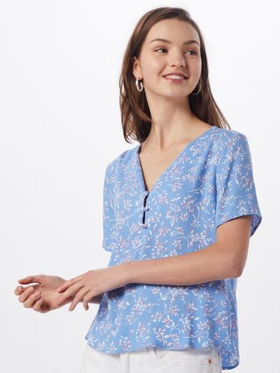 ABOUT YOU Shirt 'Kiara' in blau / mischfarben: Frontalansicht