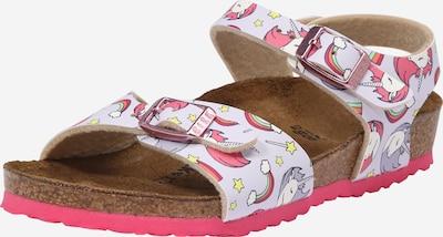 BIRKENSTOCK Sandalen 'Rio Plain Kids ' in de kleur Pink, Productweergave