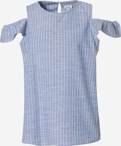MEXX Bluse in blau / weiß, Produktansicht