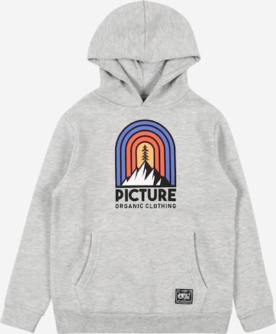 Picture Organic Clothing Sportief sweatshirt 'ROSS' in de kleur Grijs gemêleerd / Gemengde kleuren, Productweergave