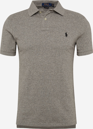 POLO RALPH LAUREN T-Shirt 'SS SLIM FIT-SHORT SLEEVE-KNIT' en gris, Vue avec produit