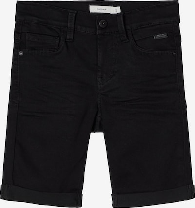 NAME IT Shorts in black denim, Produktansicht