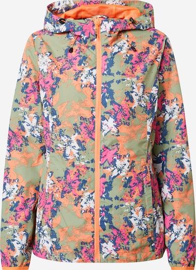 ICEPEAK Tehnička jakna 'CANDIA' u siva / miks boja, Pregled proizvoda
