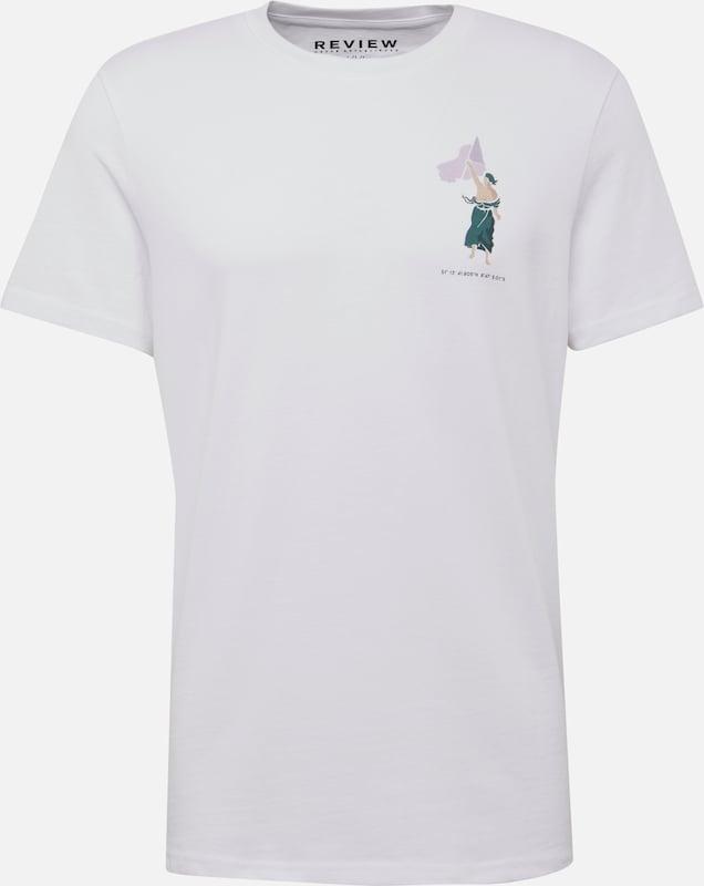 'liberte' Review shirt En Blanc T qSpGVzMU