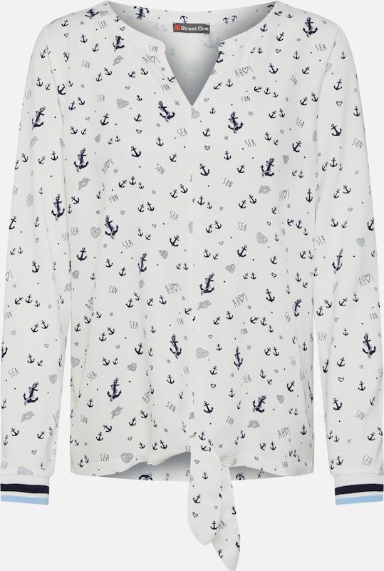 Pinou' Qr En T Blanc shirt 'ltd Street One CeWrdxQBo