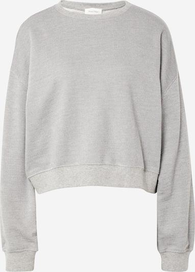 AMERICAN VINTAGE Sweat-shirt 'ELIOTIM' en gris chiné, Vue avec produit