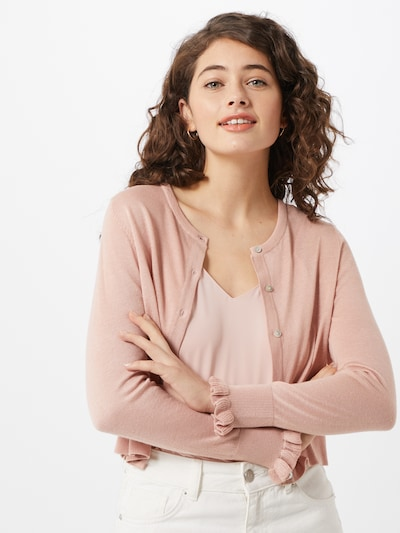 ONLY Strickjacke 'ONLTERESA' in rosa, Modelansicht