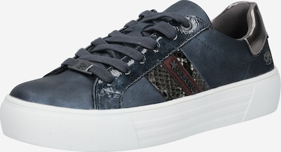 Dockers by Gerli Sneakers laag in de kleur Donkerblauw, Productweergave