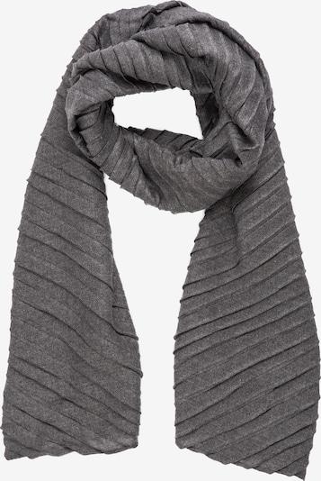 APART Schal im Plissée-Look in anthrazit, Produktansicht