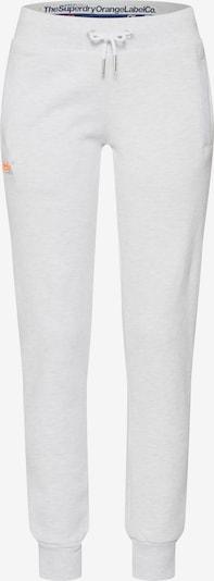 Superdry Pantalon en gris clair / orange, Vue avec produit