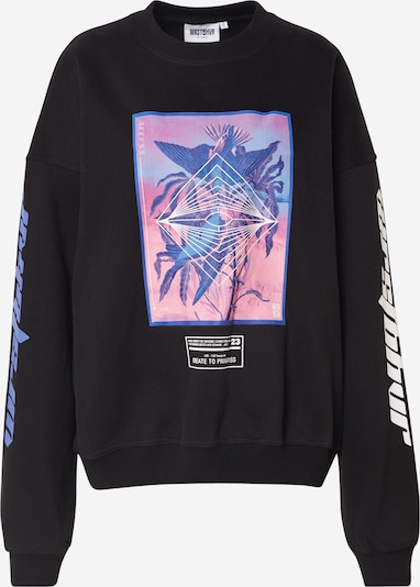 Worst Behavior Sweatshirt  'ACCESS' in schwarz, Produktansicht