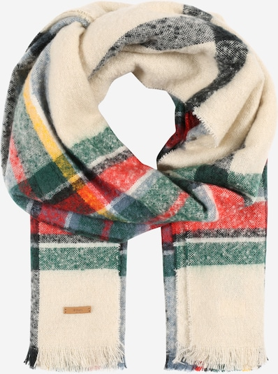 Barts Schal 'Charlotte' in beige / grün / mischfarben / rot / schwarz, Produktansicht