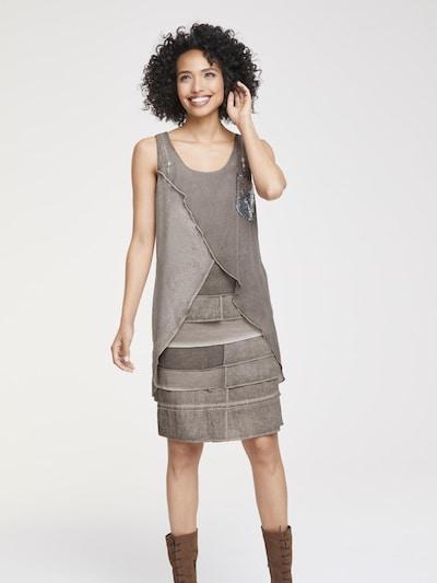heine Kleid in taupe, Modelansicht