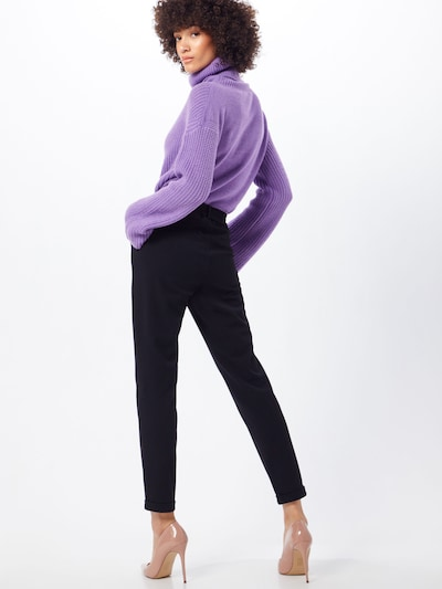 Pantaloni 'MAYA' VERO MODA pe negru: Privire spate