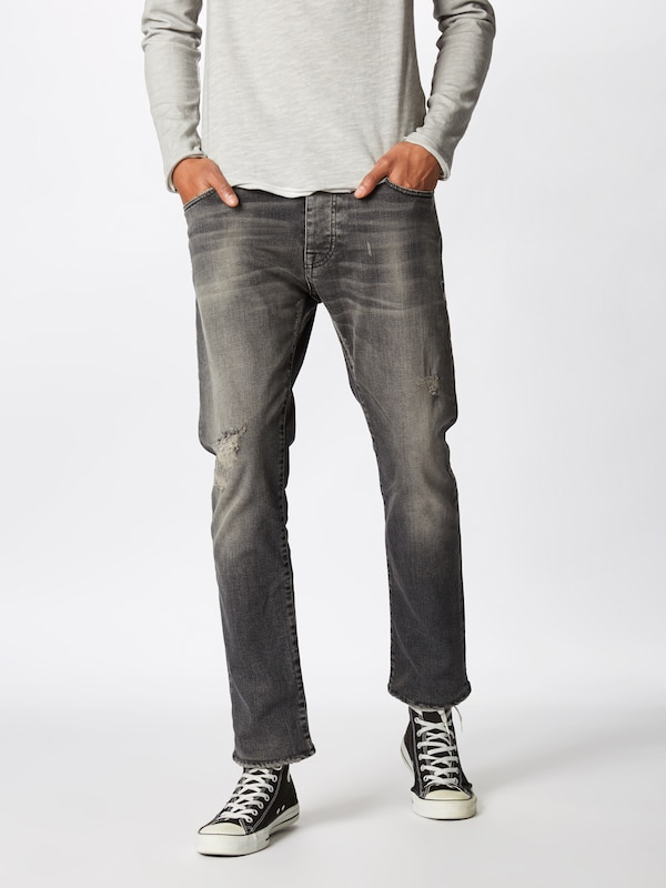 Denim En Jean 'boe Repaired' Gris 9941 Tigha gvf67Yyb