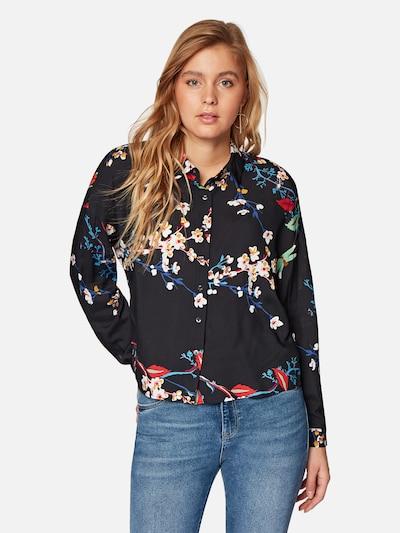 Mavi Bluse in schwarz, Modelansicht