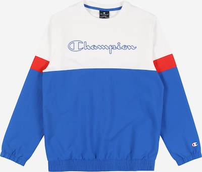 Champion Authentic Athletic Apparel Sweatshirt in blau / weiß, Produktansicht