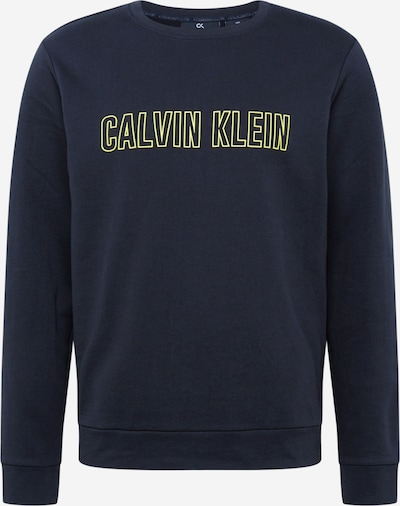 Calvin Klein Performance Bluzka sportowa w kolorze żółty / czarnym, Podgląd produktu