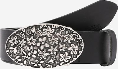 Curea MUSTANG pe negru / argintiu, Vizualizare produs