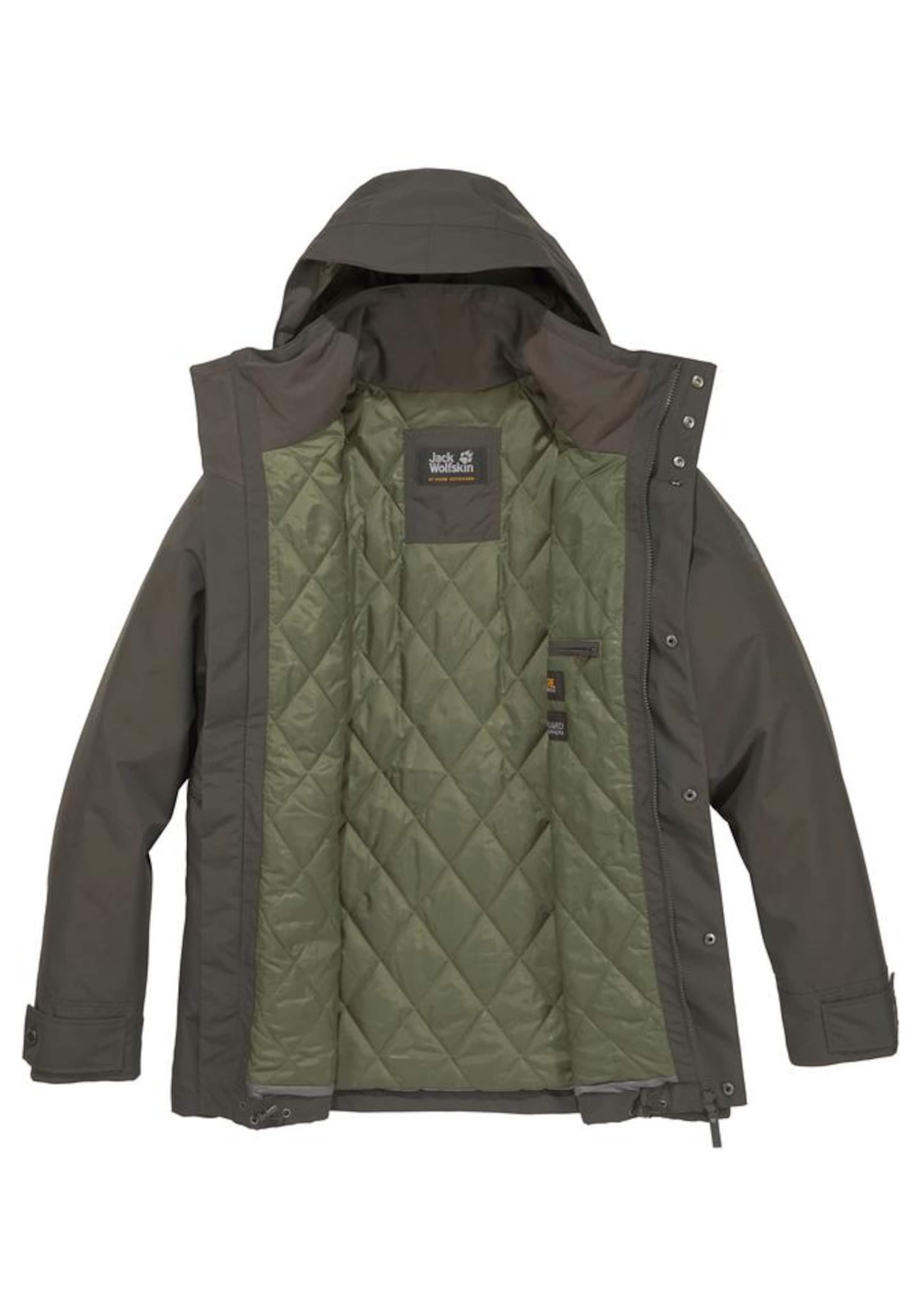 Bay' In Wolfskin Jack Funktionsjacke Khaki 'bridgeport WBCxerdo